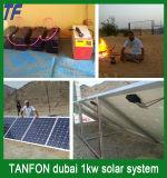 지원 5kw 10kw 태양 에너지 시스템 건전지 저장/태양 에너지 시스템 구조를 자신의 집 설치하십시오