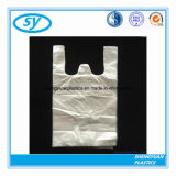 Пластичная хозяйственная сумка тенниски с ручками тельняшки