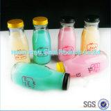 100ml en gros dans les bouteilles en verre de la boisson 250ml avec la bouteille à lait en plastique