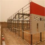 Taller ligero Fire-Resisting de la estructura del marco de acero con la mejor calidad