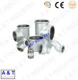 高品質の炭素鋼の使用PFAのテフロン(r)ライニングの管付属品
