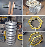 Máquina que sopla de la película plástica del PE de HDPE-LDPE