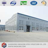 Sinoacme는 가벼운 금속 프레임 작업장을 조립식으로 만들었다