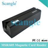 Lecteur de carte magnétique MSR605 écrivain graveur de carte magnétique (MSR605)