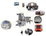 Macchina avvolgitrice del contenitore di pellicola della macchina di imballaggio con involucro termocontrattile di calore