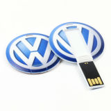 Usb-greller Drive Mini Round Card Speicher Card USB 2.0 grelles Drive Pendrives Memory Stick Flash Disk SoemLogo USBFlash Stick Flash Card USB-Thumb