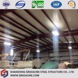 Almacén de acero prefabricado del edificio de almacenaje para el barco