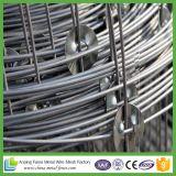 쉽게 조립한 최신 담궈진 직류 전기를 통한 강철은 가축 필드 담을 가로장으로 막는다