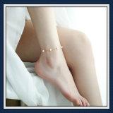 형식 보석 발목 장식이 새로운 디자인 아름다운 유리에 의하여 돌을 던진다