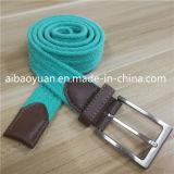 Голубой тканью без ворса моды экранирующая оплетка эластичные ленты из