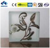 Jinghua artístico de alta calidad P-059 de la pintura de ladrillo y bloque de vidrio