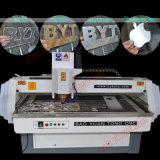 Router a basso rumore di CNC di falegnameria con l'asse rotativo