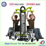 Gli handicappati del corpo spingono la presidenza che costruisce la strumentazione esterna di forma fisica