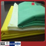 Tecidos uniformes 100% poli tingidos
