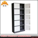 Armário de armazenamento de aço Porta 10 armário de arquivos de Metal