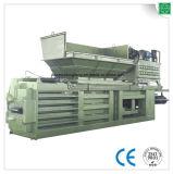 Hydraulisches automatisches horizontales Altpapier, das Maschine aufbereitet