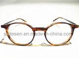 Custom Ultrathin y Ultralight Antique Tortoise Shell marcos ópticos