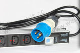 Tipo IEC Rack PDU con enchufe industrial