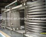 Máquina rápida do congelador da espiral da eficiência elevada de congelação rápida