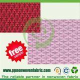 Diseño cruzado PP tela no tejida