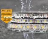 12V lumineux superbes imperméabilisent la bande d'éclairage LED de 5050 300SMD RVB
