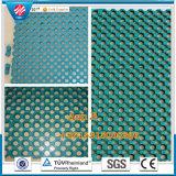 NBR Anti-Slip Flooring Rubber Mat, revestimento de borracha ao ar livre, revestimento de borracha resistente ao fogo