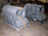 Calço/tubulação do rolo do baluarte da plataforma de barco da amarração