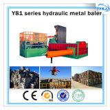 Metallo di alluminio della pressa per balle dello scarto Y81 che ricicla macchina (iso del CE)