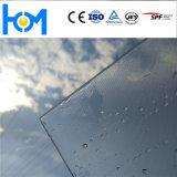 Vetro basso del ferro del vetro temperato fotovoltaico di vetro di energia solare