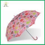 屋外の傘によって個人化されるFlodingの子供の傘雨傘