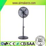 16 Zoll-elektrischer abkühlender Solarstandplatz-Ventilator mit SAA/Ce