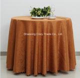 Venda a quente de poliéster Jacquard simples Roupa de mesa