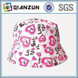 販売のための顧客用多彩な花柄のバケツの帽子