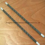 Carburo de silicio de la fabricación Rod, solo elemento de calefacción del Sic del espiral