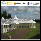 Der hohe Spitzen-Aluminiumim freiengarten, der 800 Leute überspannen Wedding ist klar, Raum-Dach-Zelt des Partei-europäisches Markt-20mx40m