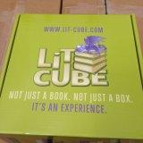 풀 컬러 물결 모양 상자 인쇄하 포장 상자 우송자 상자