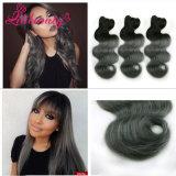 Lungamente capelli naturali durevoli 100% del Malaysian del Virgin di Ombre dell'onda del corpo di Remy