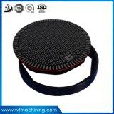 OEMの円形か正方形または長方形の延性がある鉄の鋳造のマンホールカバー製造業者