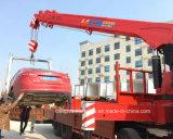4車軸Dongfengクレーンによって取付けられる頑丈な8X4クレーンローディングのトラック
