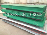 Feuille en acier profilée ondulée enduite d'une première couche de peinture de toiture de tuile/en métal de couleur