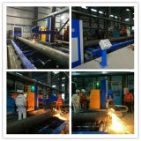 Rollen-Bett-Typ CNC-Plasma-Stahlrohr-Ausschnitt-Maschine