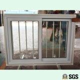 Finestra di scivolamento di UPVC con la rete di Buglar dell'acciaio inossidabile, finestra di UPVC, finestra del PVC, finestra K02015