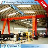 El equipo de elevación grúa tipo Mh sola viga de 5 toneladas de grúa pórtico móvil