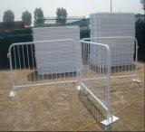 Barriera pedonale d'acciaio galvanizzata traffico