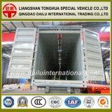 Tipo del rectángulo acoplado de Van del transporte de la fabricación de la fábrica del Tir-Árbol semi para la venta