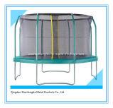 14FT Trampoline redondo interno de 4 pés cabido na jarda para miúdos