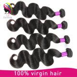 Extensão não processada por atacado da onda do corpo do cabelo humano do Virgin