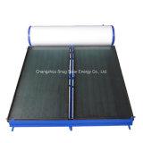 Painel de tela plana a energia solar térmica no aquecedor de água