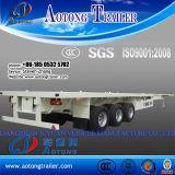 Tri-Axle 40 ' Container Transport Semi Trailer für Sale