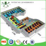 ASTM Китай Wenzhou Large Commercial Plan Trampoline Park для Sports Games